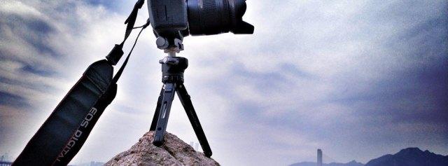 矿泉水瓶大小的三脚架,却是我户外拍摄利器 — KAKAFOTO KTK-T02A迷你三脚架体验