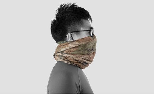 Magforce丛林伪装围巾:全体网式设计,顺畅呼吸隐蔽性强