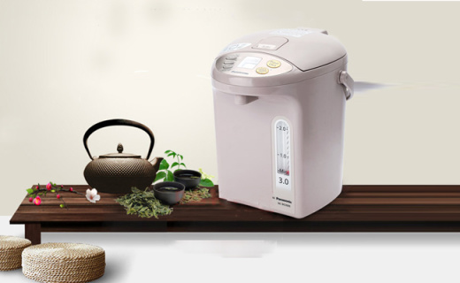 松下NC-BG4000热水瓶:预约烧水保温好,有效去除水中氯气