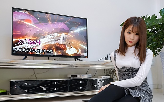 InFocus富可视智能电视,小户型客厅看片神器 | 视频
