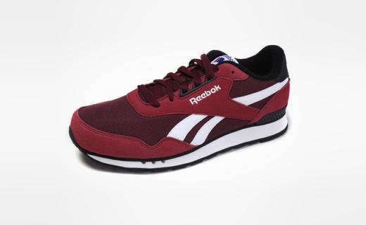 Reebok男子运动鞋:柔软轻量化设计,经典复古脚感舒适