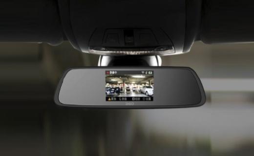360行车记录仪:高光白镜成像清晰,前后双摄倒车无忧