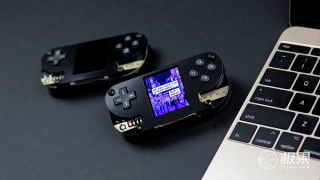 买完还要自个做游戏?!Pyxa游戏机上线Kickstarter