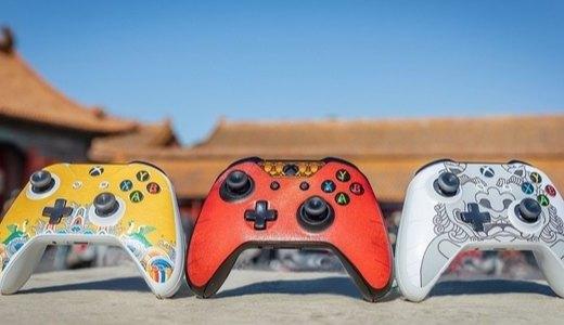 过年新玩具,XBOX推出三款限量版手柄贴纸,满满中国风