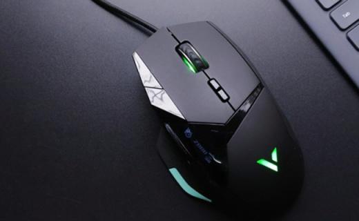 雷柏VT900游戏鼠标体验,科技感爆棚,可自定义显示屏