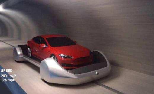 """为了消灭堵车,马斯克竟弄出""""时空隧道""""?花一块钱就能玩儿穿越!"""