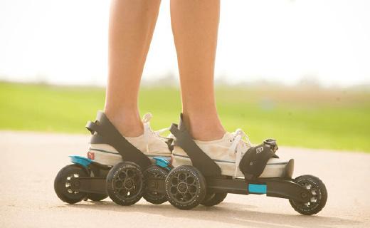 我的輪滑時尚時尚最時尚,秒脫秒穿好操控溜的飛起