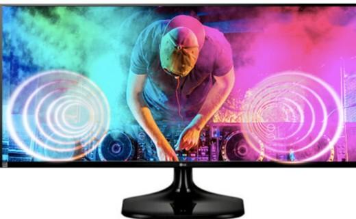 LG25UM58-P显示器:零闪烁技术呵护视力,宽屏视野提升