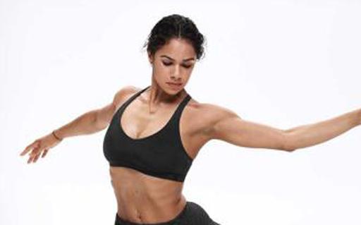 安德玛Mid Crossback运动内衣:紧绷更要舒适,大胸运动不再颠