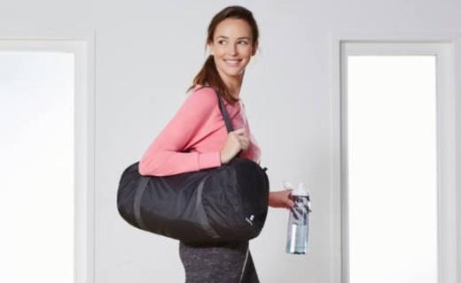 迪卡侬 DOMYOS健身包:材质轻盈便携可折叠,30L大容量轻松置物
