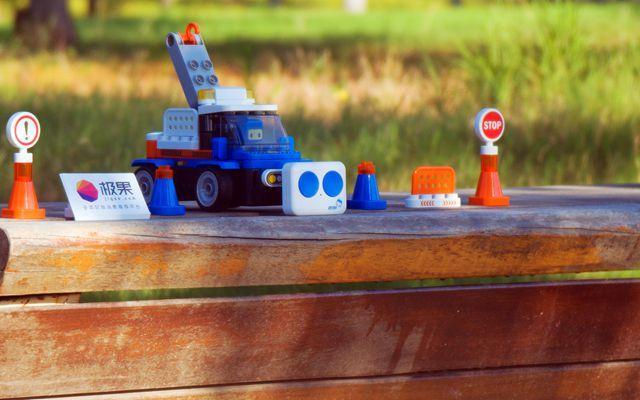 让孩子享受积木车开动乐趣,百变布鲁可积木车体验