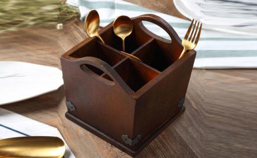 可立特收纳盒:优质美国杨木制作,复古风格极具美感