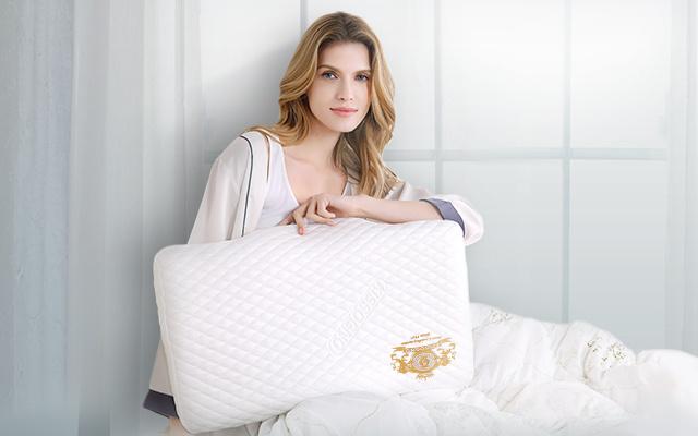 绮眠恒温零度棉双核枕