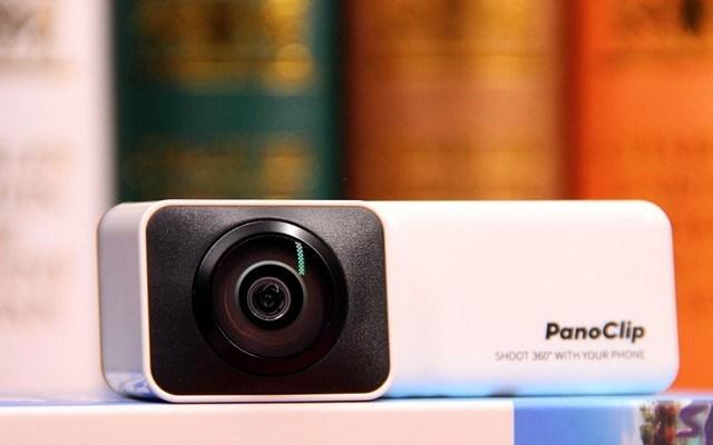 简单一拍立刻拥有360°全景的手机摄像头