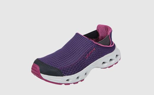 乐飞叶涉水鞋:除菌防臭材质,轻薄一体如同穿袜子