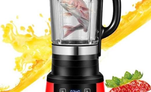 美的BL25B36榨汁机:一机三杯不串味,自带过滤放心喝