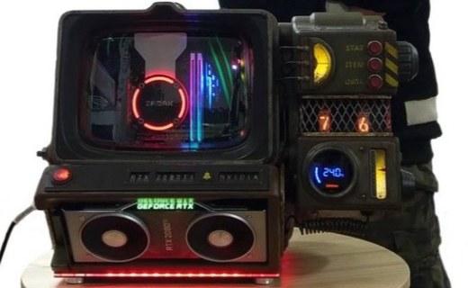 浓郁废土风!哔哔小子主机惊现台北电玩展,自带顶配性能