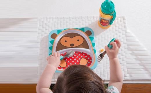 Skip Hop儿童餐具:安全材质,呆萌造型增添宝宝食欲