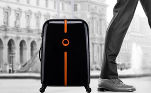 法国大使旅行箱:坚固耐磨ABS+PC材质,简约设计新颖高雅