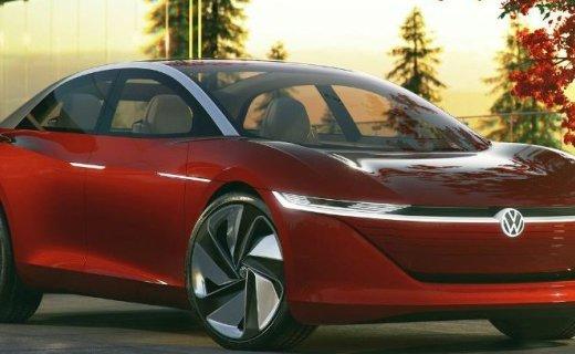 大众发布I.D. VIZZION概念电动车,没有方向盘,全自动驾驶!