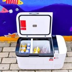 高颜值大容量,自驾出行储藏美味的不二之选 — 英得尔车载冰箱T20体验 | 视频