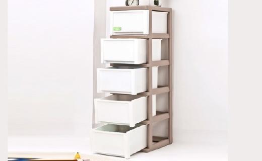 爱丽思抽屉柜:PP材料无毒无味,人性化设计安全健康