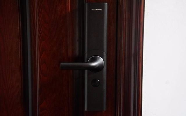为了它我换了一扇门,德施曼T86智能指纹锁