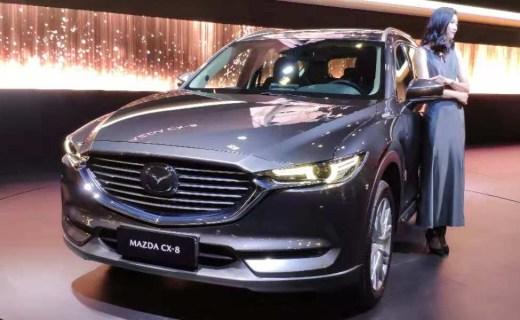 广州车展:汉兰达被吊打,全新马自达CX-8抢先体验,空间夸张配置更高!