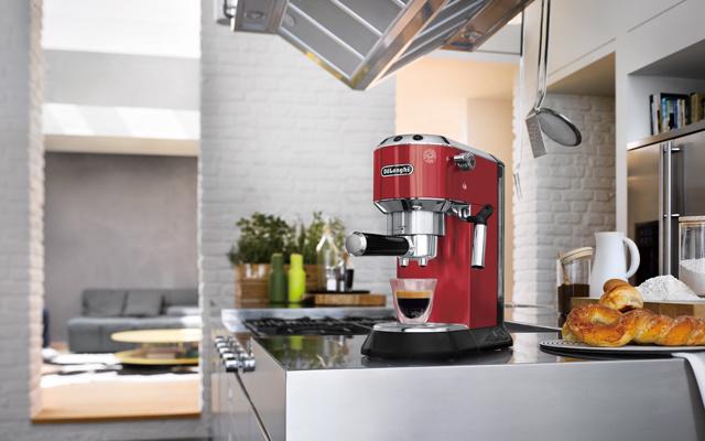 德龙DEDICA系列泵压式咖啡机