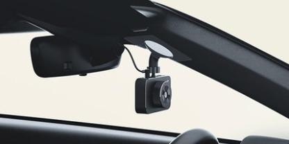 米家行车记录仪:高感光传感器,160°广角全高清拍摄