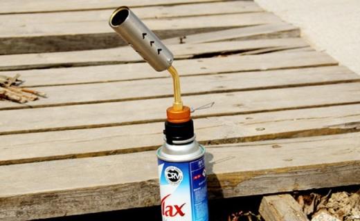 火枫FMS-706点火枪头:火焰中心温度可达1300°,适配多种气罐