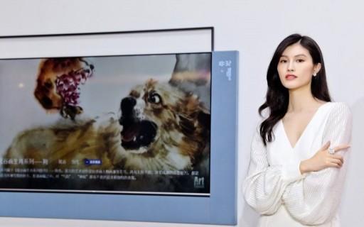 TCL发布XESS浮窗全场景TV,挂在墙上就是一幅画,还能听声辨位