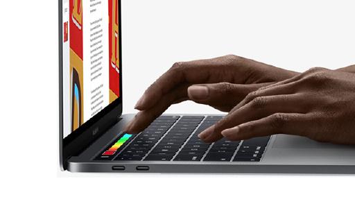 苹果新MacBook Pro,增加触控条操控更便捷!