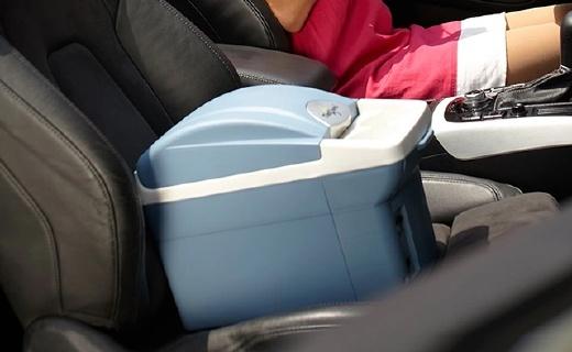婷微CB-08B车载冰箱:9小时仅耗1度电,冷暖双保温全年都能用