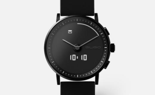 GLIGO手表:180天超长续航,双色表盘随意转换