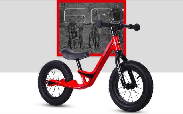 优贝6C碳纤维儿童滑步车