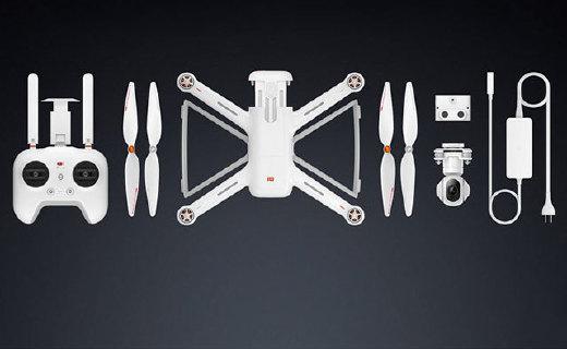 小米无人机终于来了!2499卖这配置…