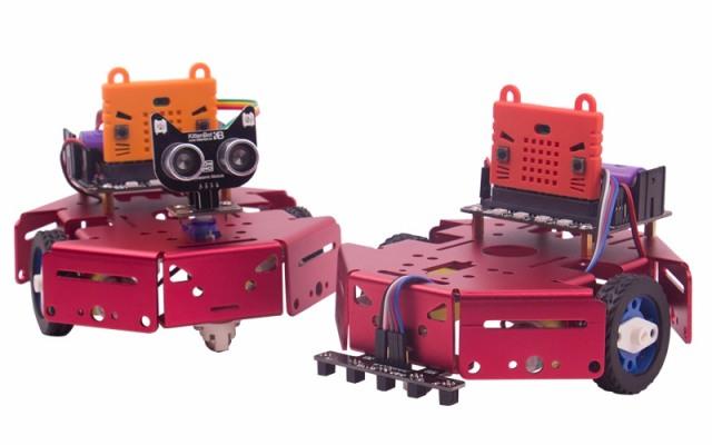 KittenBot Robot:bit巡线避障智能小车