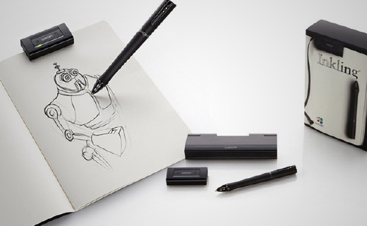 Wacom智能数位笔,没有数位板也能画画