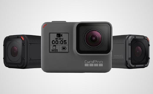 GoPro新机Hero 5,不加外壳也能防水
