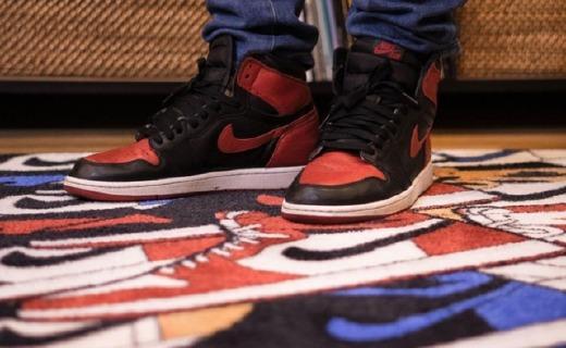 这块地毯,将Air Jordan 1经典配色All in!