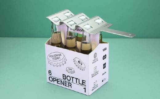 一次能开六瓶酒,这个开瓶器厉害了