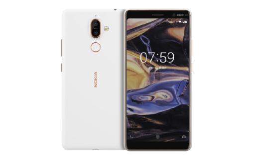诺基亚7 plus白色版本开售,售价2099起