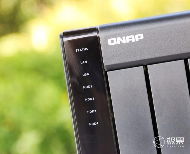 打造强大的个人影音库,QNAP 威联通网络存储器体验-极果