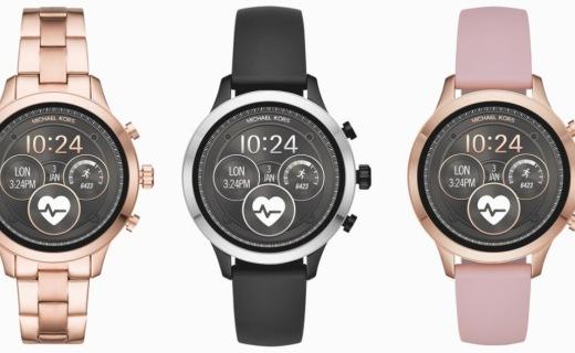 Fossil再推全新智能手表 首次采用硅胶表带