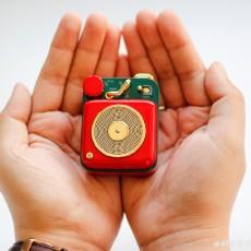 过年回家就带她,大红色喜庆的猫王B612原子唱机