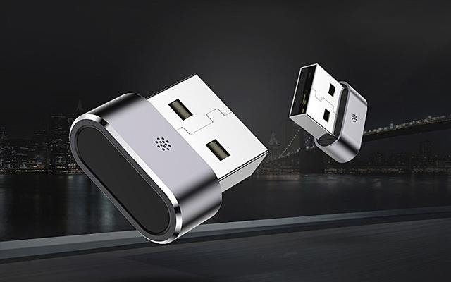 电脑USB智能指纹加密器
