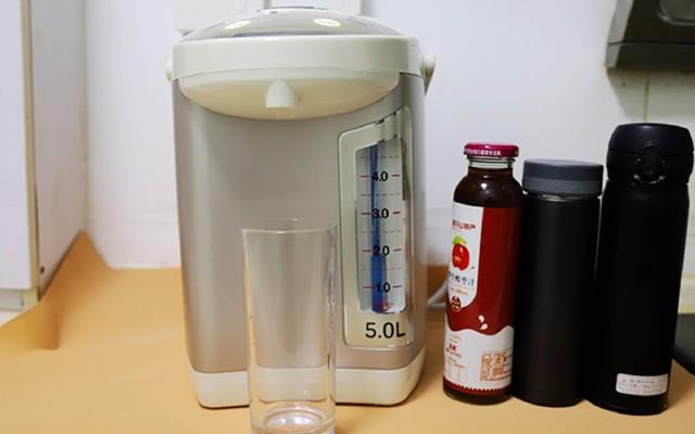 多段调温 去除氯气,苏泊尔5L电热水瓶居家评测