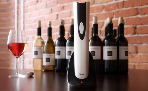 美国人发明的电动开瓶器,开红酒也能如此高逼格