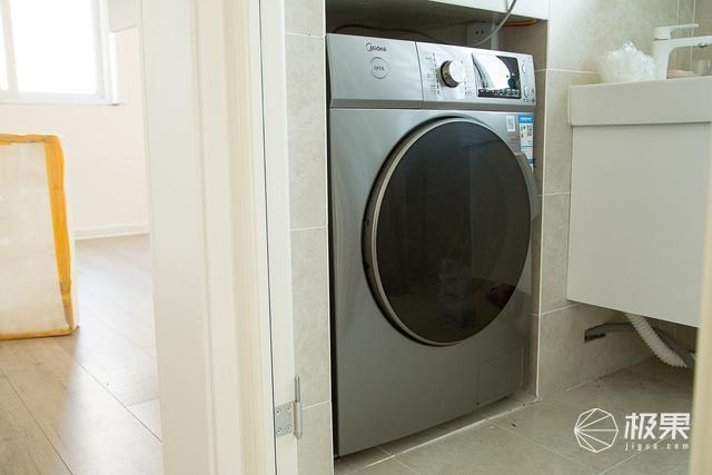 把阳台还给休闲娱乐,美的10公斤直驱变频洗烘一体洗衣机体验